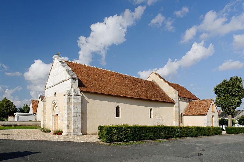 Photo du Monument Historique Ancienne église situé à Sainte-Lizaigne