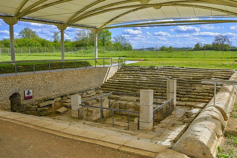 Photo du Monument Historique Terrains contenant des vestiges archéologiques situé à Saint-Marcel