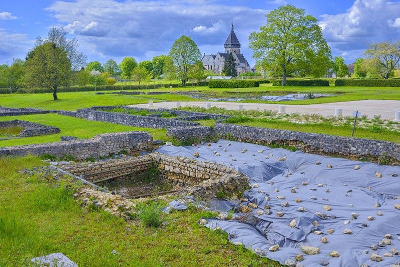 Photo du Monument Historique Vestiges gallo-romains situé à Saint-Marcel