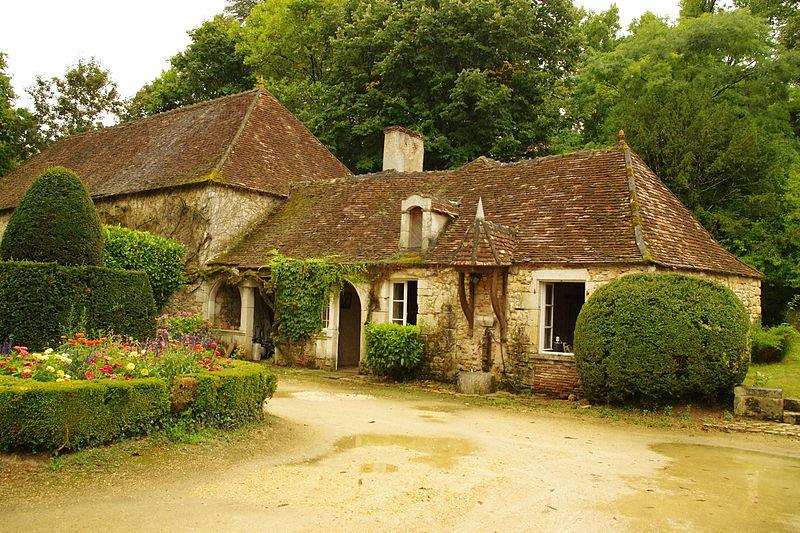 Photo du Monument Historique Maison de La Croix Blanche situé à Ingrandes