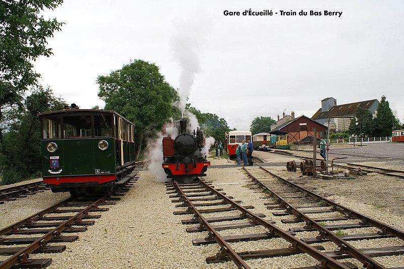 Photo du Monument Historique Ligne à voie ferrée métrique le Blanc-Argent (ou B.A.) sur le tronçon Luçay-le-Malé-Argy situé à Ecueillé
