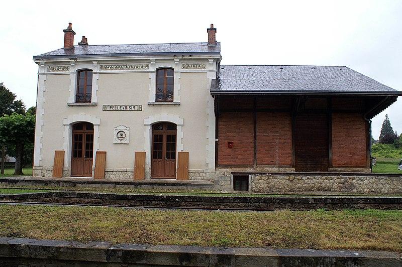 Photo du Monument Historique Ligne à voie ferrée métrique le Blanc-Argent (ou B.A.) sur le tronçon Luçay-le-Malé-Argy situé à Pellevoisin
