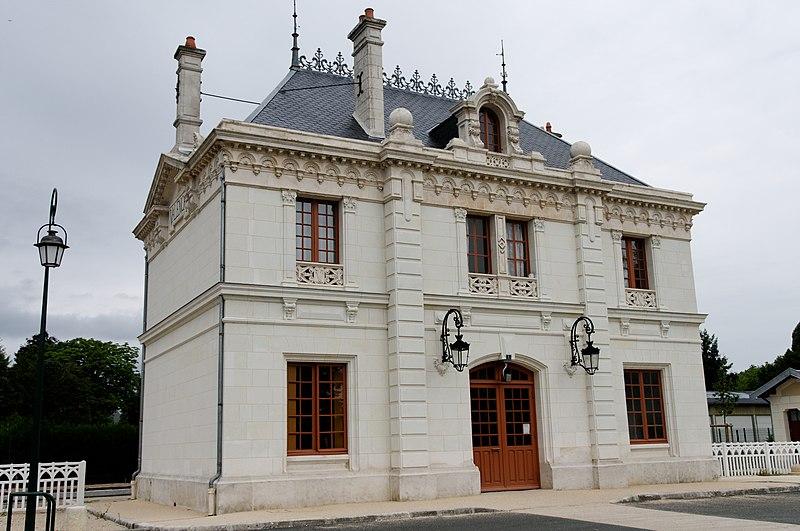 Photo du Monument Historique Gare situé à Valençay