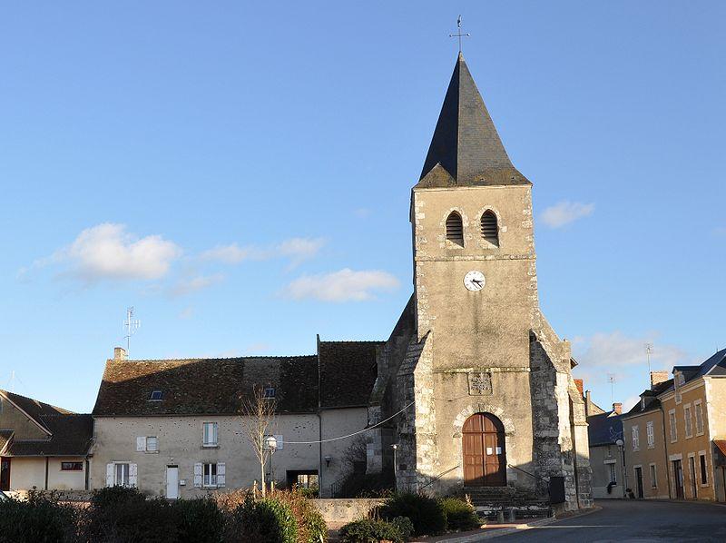 Photo du Monument Historique Eglise paroissiale Saint-André situé à Rosnay