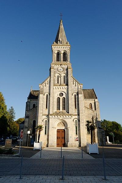 Photo du Monument Historique Eglise paroissiale Saint-Sébastien situé à Villedieu-sur-Indre