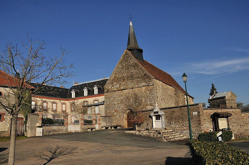 Photo du Monument Historique Eglise du prieuré Saint-Nicolas, actuelle église Saint-Nicolas situé à Beaulieu