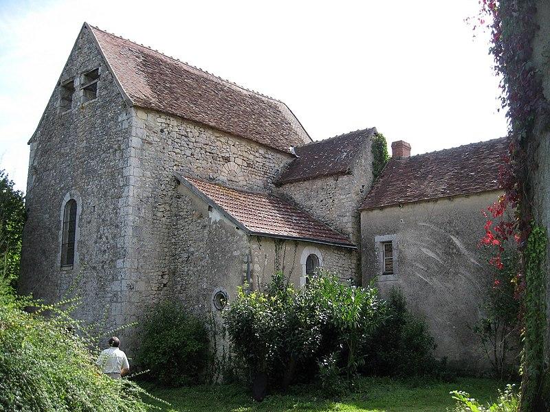 Photo du Monument Historique Prieuré de Saint-Marin situé à Saint-Marcel