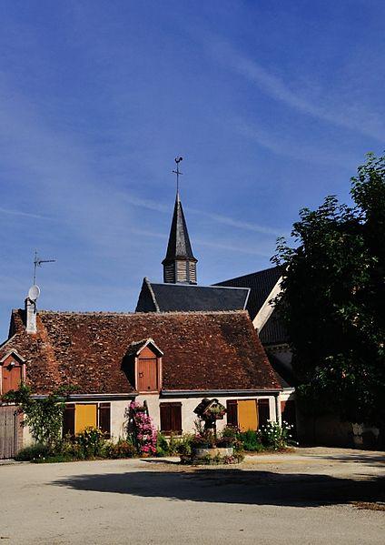 Photo du Monument Historique Eglise Saint-Etienne situé à Fontenay