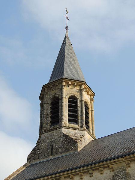 Photo du Monument Historique Ancienne église paroissiale Saint-Martin situé à Anjouin
