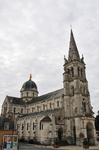 Photo du Monument Historique Eglise Notre-Dame situé à Châteauroux