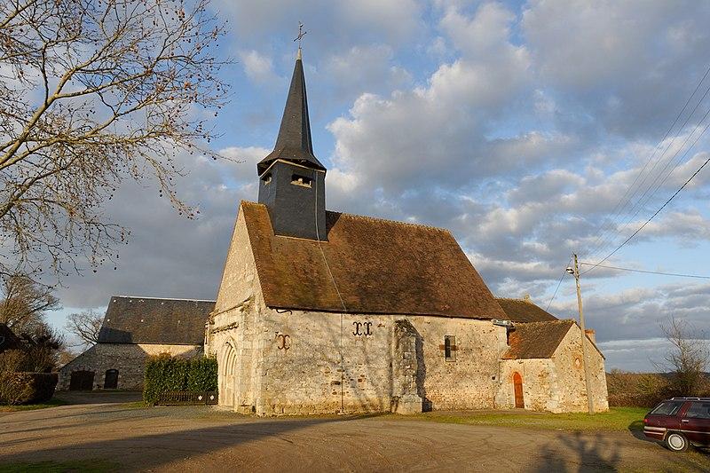 Photo du Monument Historique Eglise paroissiale Notre-Dame situé à Tilly