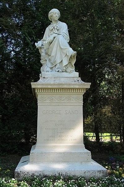 Photo du Monument Historique Monument à George Sand situé à Châtre(La)
