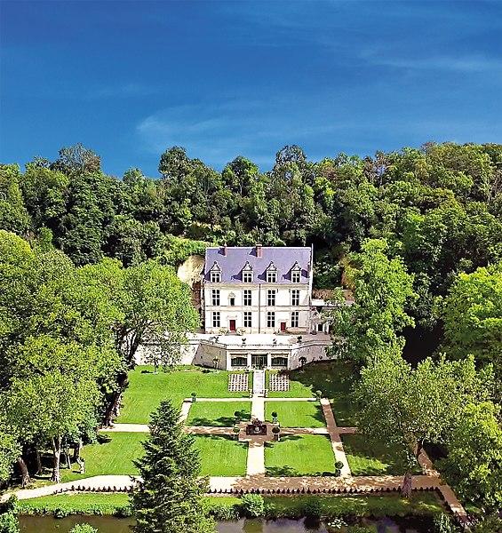 Photo du Monument Historique Château Gaillard situé à Amboise