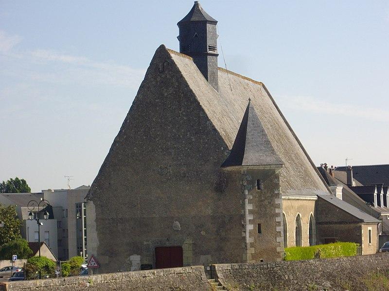 Photo du Monument Historique Eglise Notre-Dame-du-Bout-des-Ponts ou Notre-Dame-de-Grâce situé à Amboise