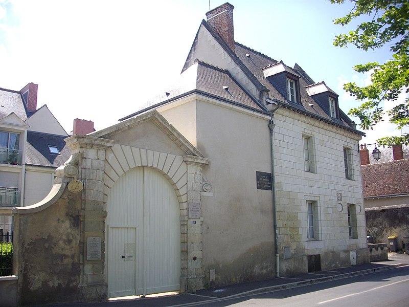 Photo du Monument Historique Hôtel du 16e siècle situé à Amboise