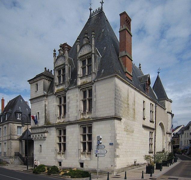 Photo du Monument Historique Hôtel de ville situé à Amboise