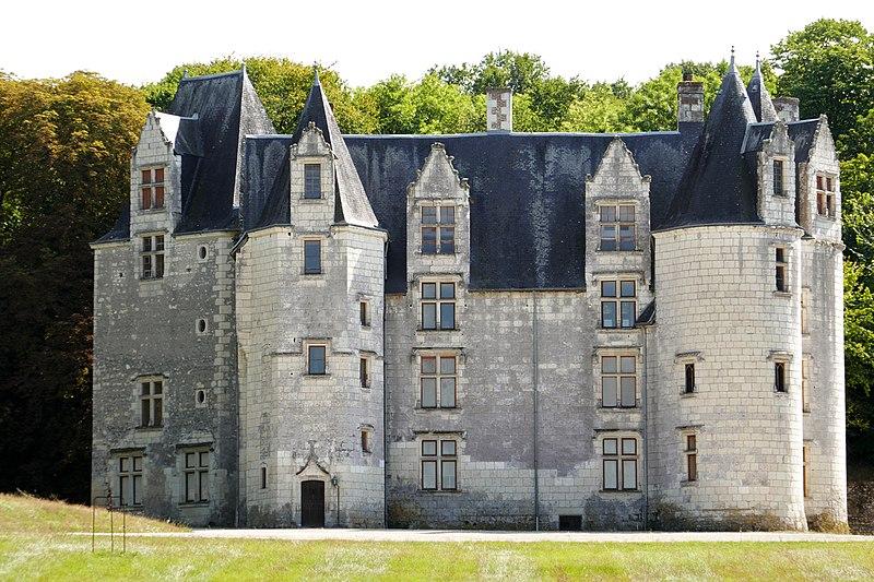 Photo du Monument Historique Château des Brétignolles situé à Anché