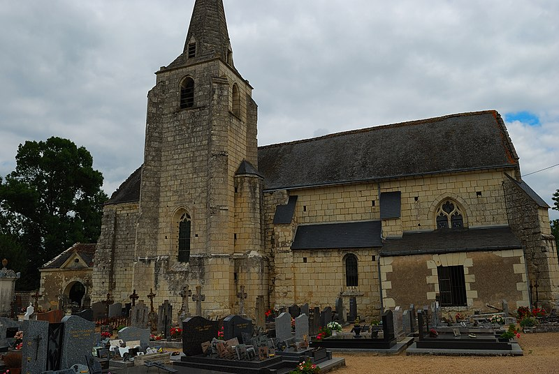 Photo du Monument Historique Eglise Saint-Symphorien situé à Anché