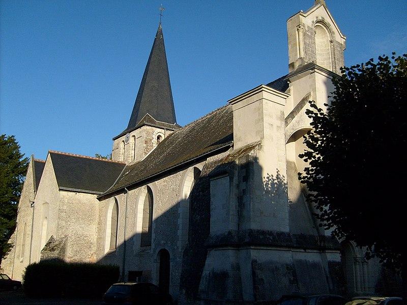 Photo du Monument Historique Eglise paroissiale Saint-Maurice situé à Artannes-sur-Indre