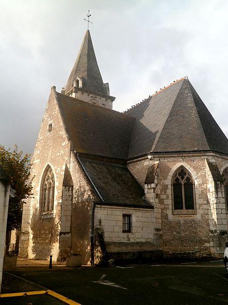 Photo du Monument Historique Eglise Saint-Romain situé à Athée-sur-Cher