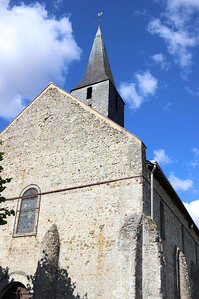 Photo du Monument Historique Eglise Saint-Martin situé à Autrèche
