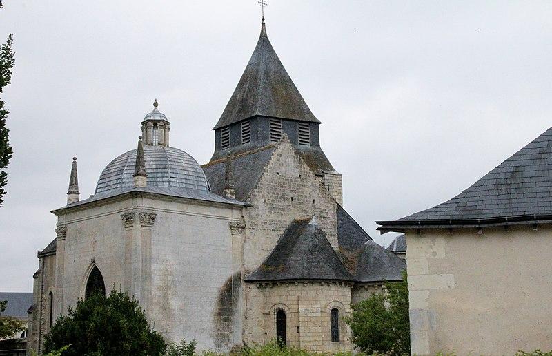 Photo du Monument Historique Eglise Saint-Symphorien situé à Azay-le-Rideau
