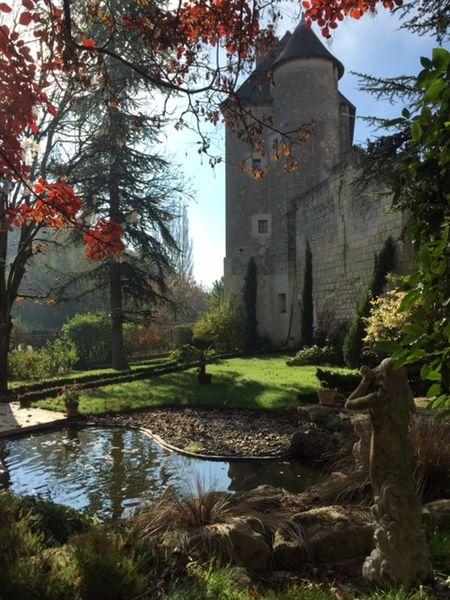 Photo du Monument Historique Vestiges du château situé à Azay-sur-Cher