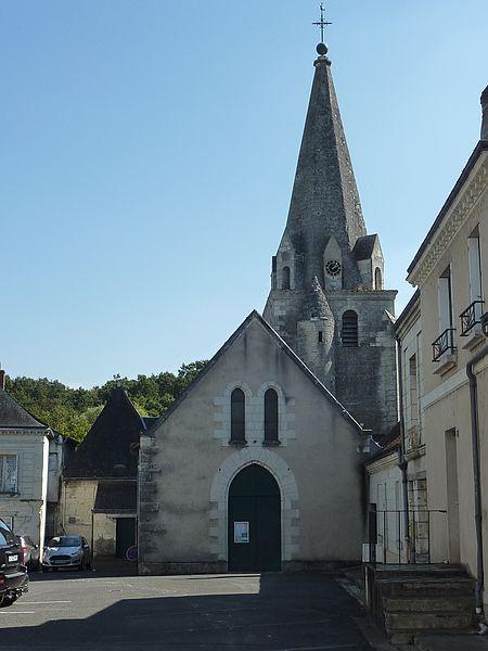 Photo du Monument Historique Eglise Sainte-Marie-Madeleine situé à Azay-sur-Cher