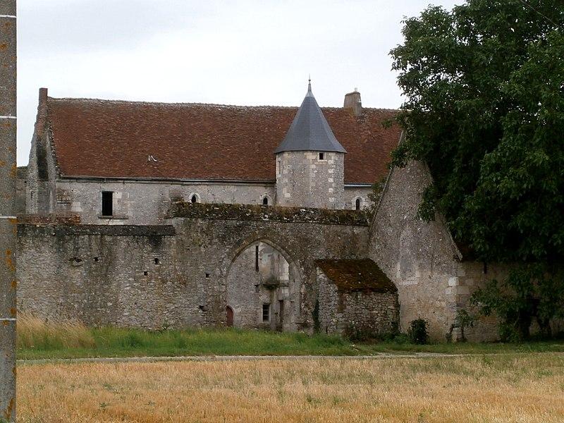 Photo du Monument Historique Ancienne métairie monastique de Bergeresse situé à Azay-sur-Indre