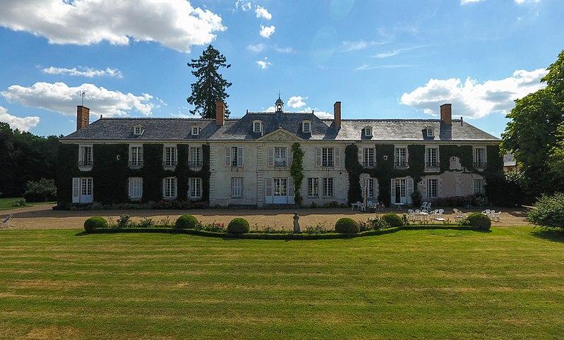 Photo du Monument Historique Château de la Rochefuret situé à Ballan-Miré