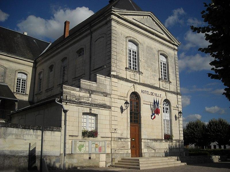 Photo du Monument Historique Ancienne abbaye de la Trinité situé à Beaulieu-lès-Loches