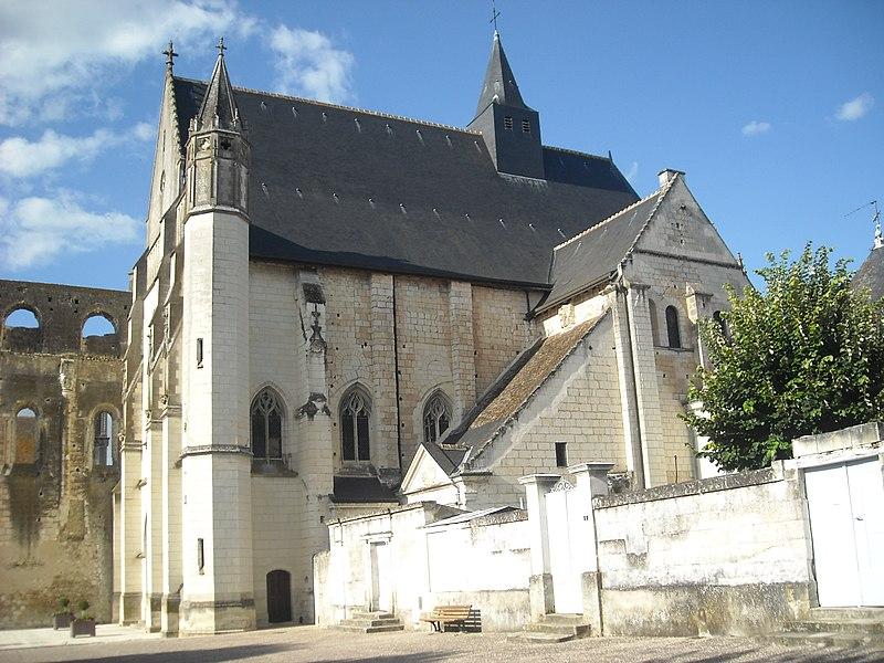 Photo du Monument Historique Eglise abbatiale Saint-Pierre-Saint-Paul situé à Beaulieu-lès-Loches