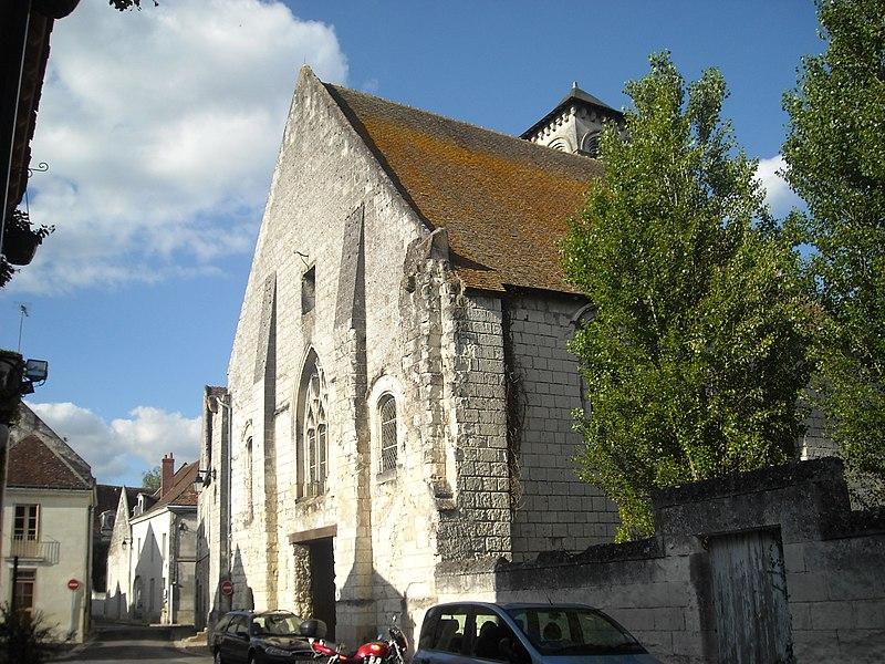 Photo du Monument Historique Ancienne église Saint-Laurent situé à Beaulieu-lès-Loches