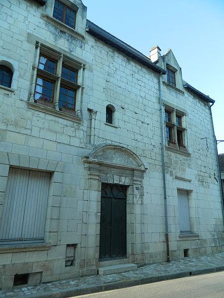 Photo du Monument Historique Maison dite du Pilori ou de Justice situé à Beaulieu-lès-Loches