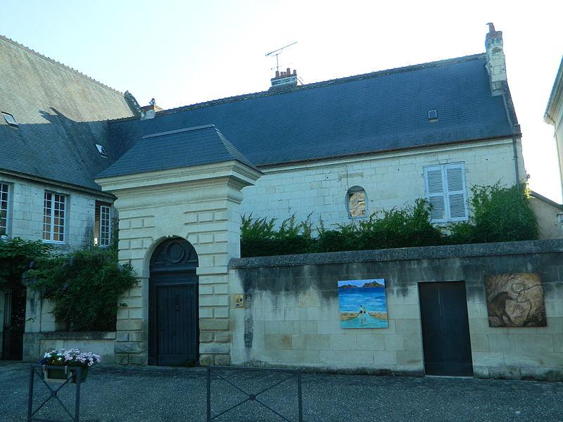 Photo du Monument Historique Maison dite du Prieur situé à Beaulieu-lès-Loches