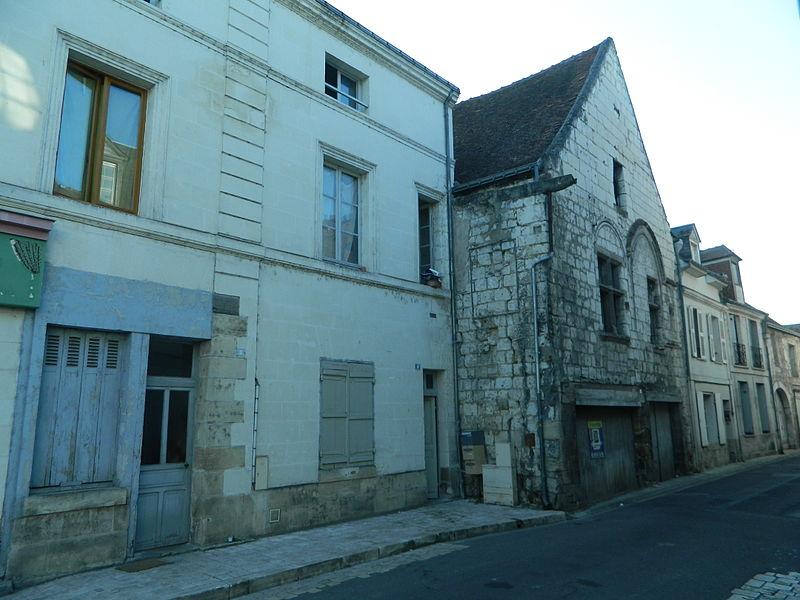 Photo du Monument Historique Deux maisons du 16e siècle situé à Beaulieu-lès-Loches