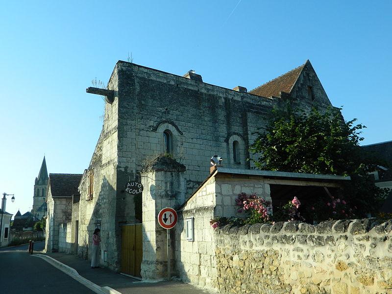 Photo du Monument Historique Ancienne maladrerie situé à Beaulieu-lès-Loches