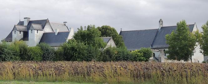Photo du Monument Historique Château de Razilly situé à Beaumont-en-Véron