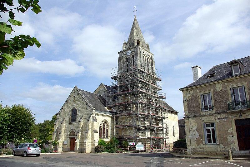Photo du Monument Historique Eglise paroissiale Saint-Germain situé à Benais