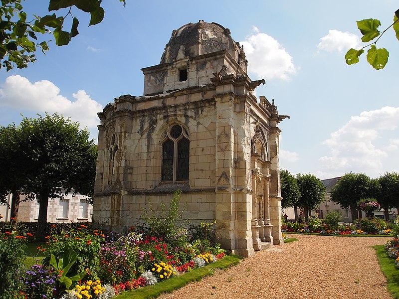 Photo du Monument Historique Chapelle de l'ancien cimetière, dite chapelle de Seigne situé à Bléré