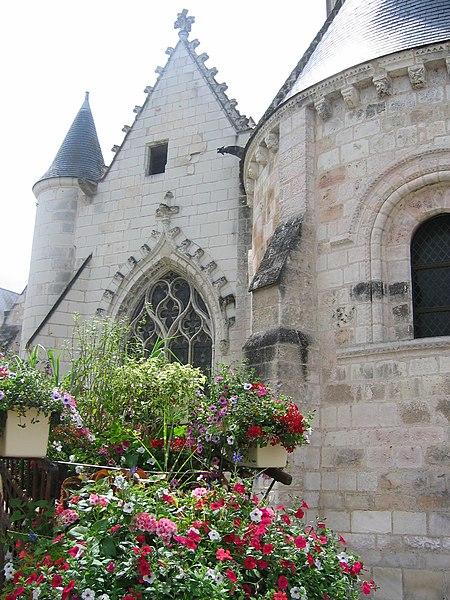 Photo du Monument Historique Eglise paroissiale Saint-Christophe situé à Bléré