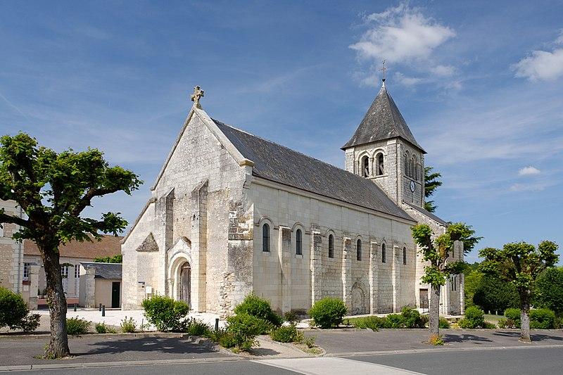 Photo du Monument Historique Eglise Saint-Martin situé à Bossay-sur-Claise
