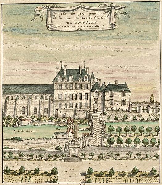 Photo du Monument Historique Abbaye bénédictine de Saint-Pierre de Bourgueil situé à Bourgueil
