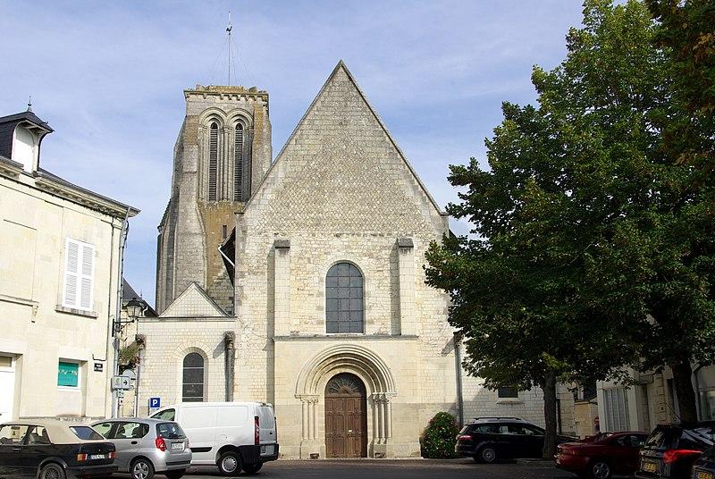 Photo du Monument Historique Eglise Saint-Germain situé à Bourgueil