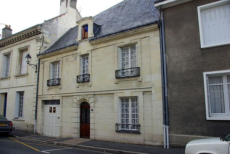 Photo du Monument Historique Maison situé à Bourgueil