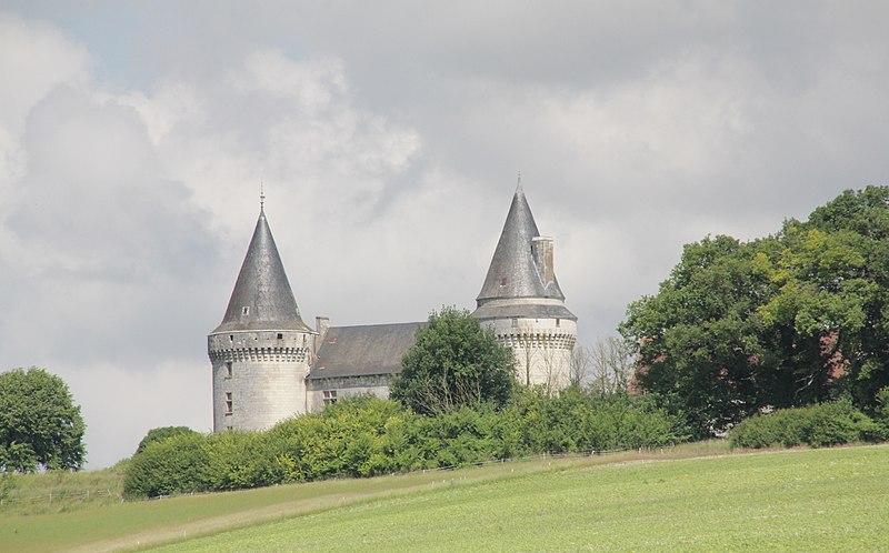 Photo du Monument Historique Château de Bagneux situé à Bournan