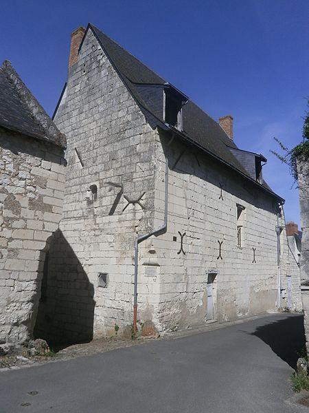 Photo du Monument Historique Ancien hôtel de la Prévôté situé à Candes-Saint-Martin