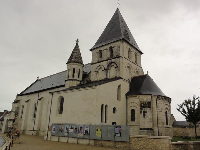 Photo du Monument Historique Eglise paroissiale Saint-Avant situé à La Celle-Saint-Avant