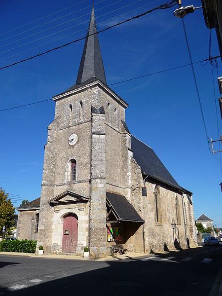 Photo du Monument Historique Eglise paroissiale Saint-Quentin situé à Channay-sur-Lathan