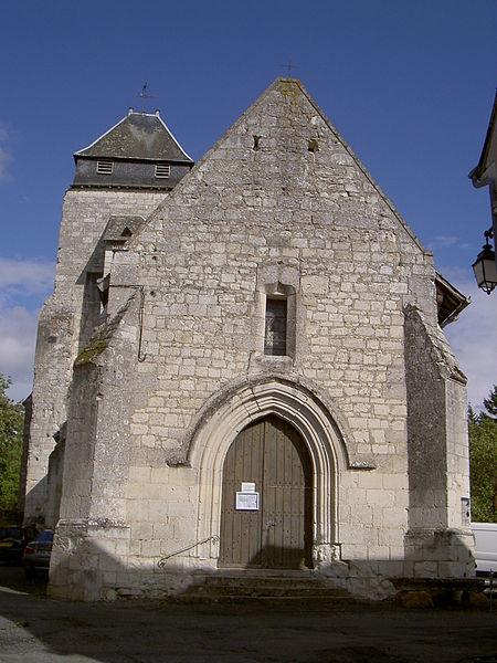 Photo du Monument Historique Eglise paroissiale Saint-Martin situé à La Chapelle-Blanche-Saint-Martin